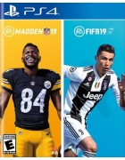 EA Sports 19 Bundle (Madden NFL 19 & FIFA 19) PS4
