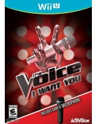 The Voice:  I Want You (Game Only) WIIU
