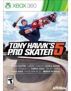 Tony Hawk's Pro Skater 5 X360