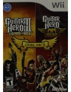 Guitar Hero III & Guitar Hero Aerosmith Dual Pack WII