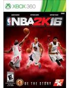 NBA 2K16 X360