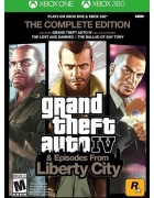 Grand Theft Auto IV: The Complete Edition XBX1