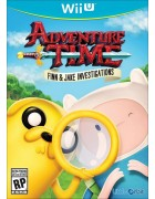 Adventure Time: Finn and Jake Investigations WIIU