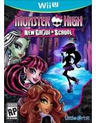 Monster High: New Ghoul in School WIIU