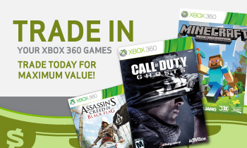 Trade in your X360 Games