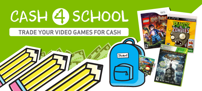 Get cash now for your back to school needs!