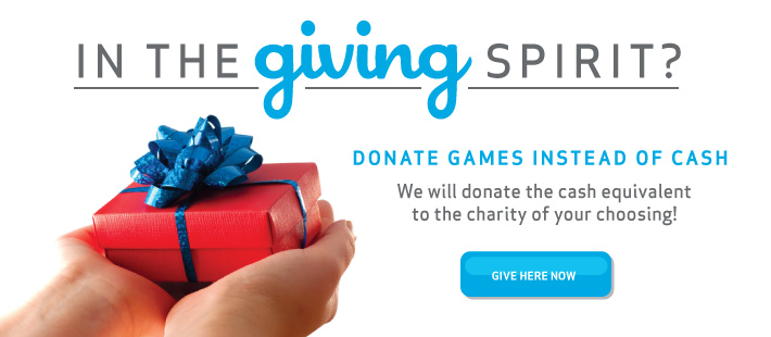 Donate giving spirit