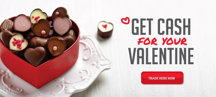Get cash for your valentine